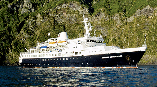 M/V Ocean Adventurer exterior cruise ship