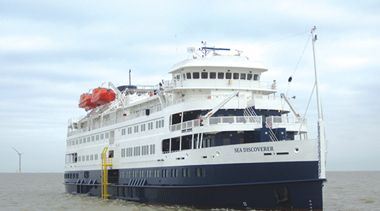 M/V Sea Discoverer cruise ship