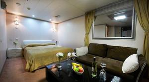 M/V Ocean Atlantic luxury cabin interior