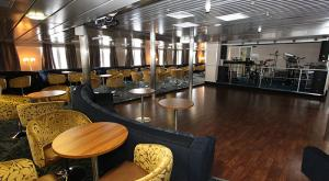 M/V Ocean Endeavor dance floor